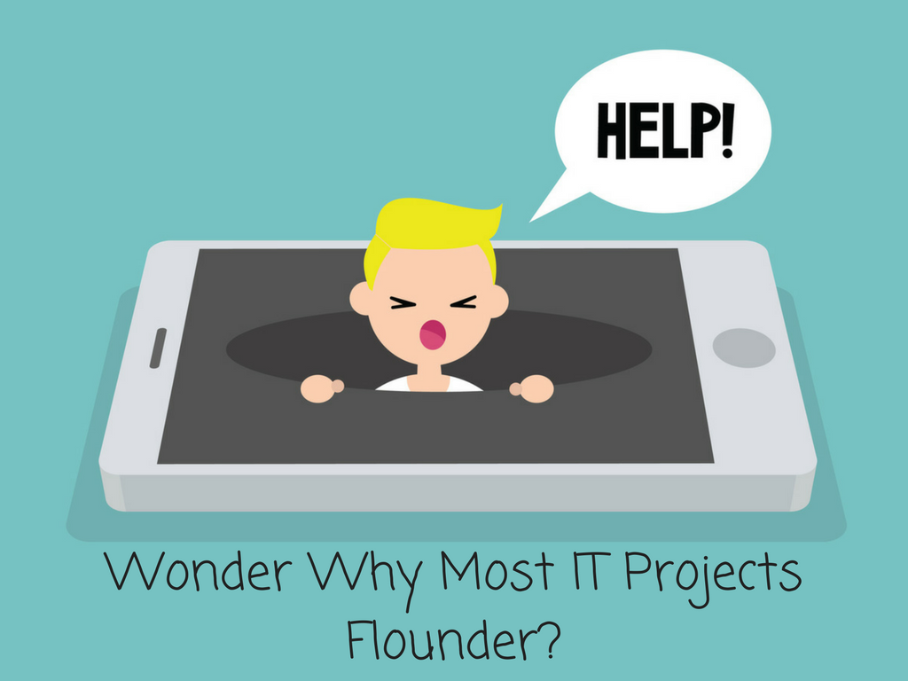 Wonder Why Most IT Projects Flounder-