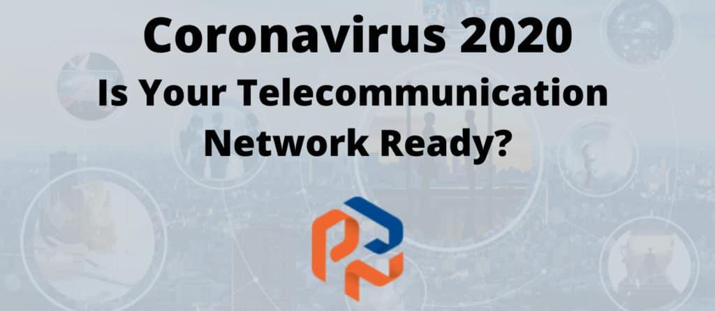 telecommunications network coronavirus